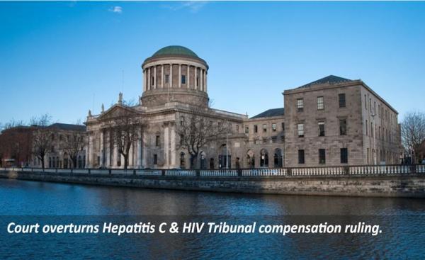 Court overturns Hepatitis C & HIV Tribunal compensation ruling.